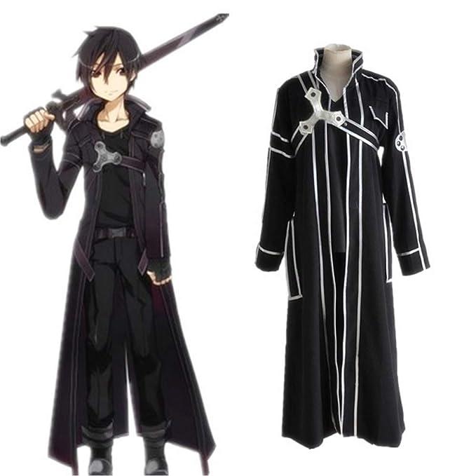 Hzd Alicization Sao Anime Sword Art Online Kirito Cosplay Disfraz ...