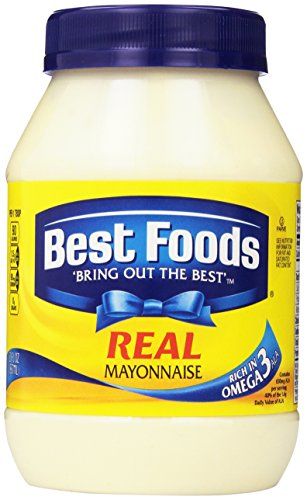 Best Foods REAL Mayonnaise - BONUS! 30oz jar (2 jars) (Best Foods Real Mayonnaise Recipe)