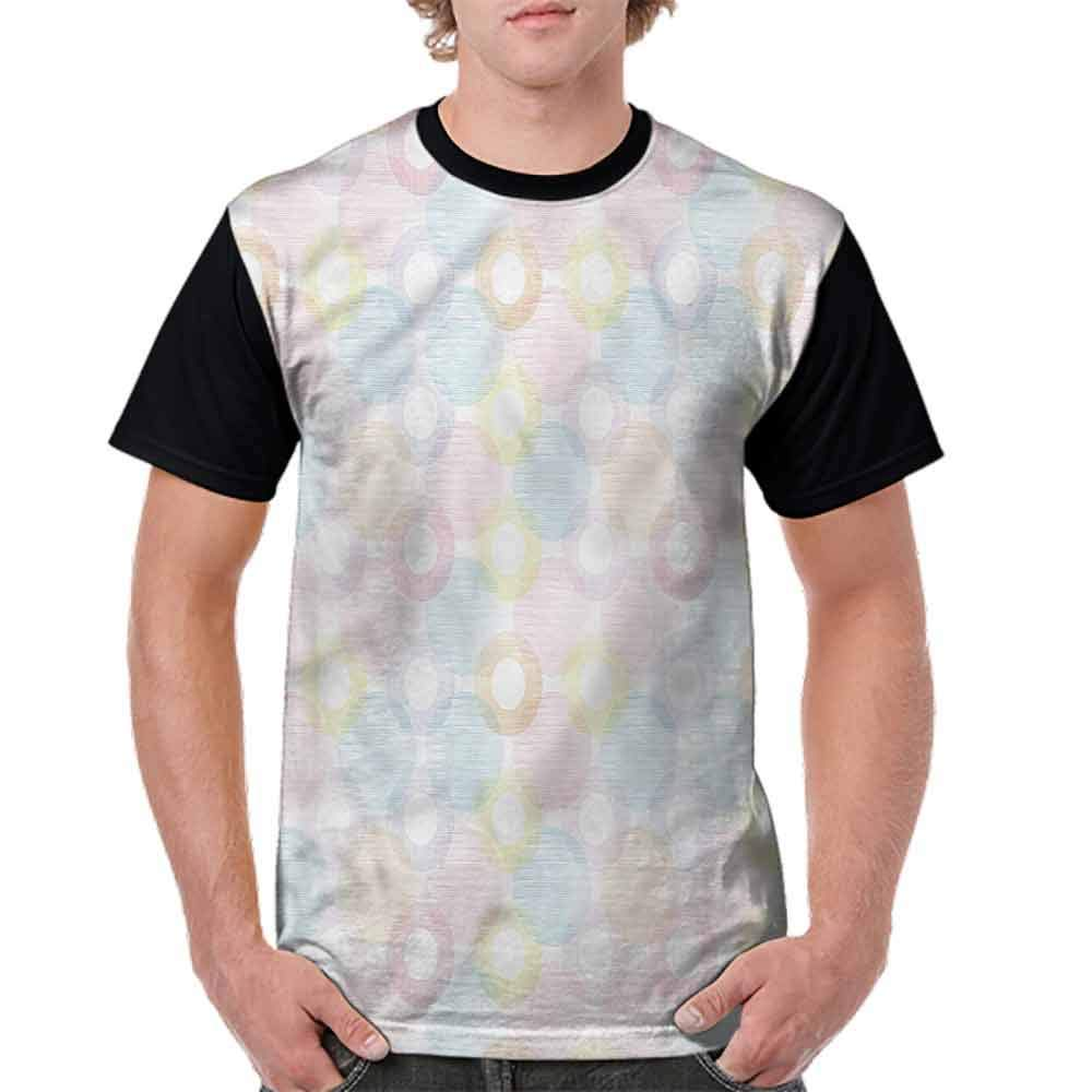 BlountDecor Trend t-Shirt,Colorful Artistic Display Fashion Personality Customization