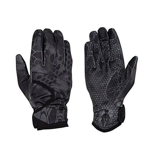 Kryptek Krypton Camo Hunting Gloves, Typhon, L