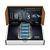 Gillette Fusion ProShield Chill Men's Razor Blade Refills, 4 Count, Mens Razors / Blades