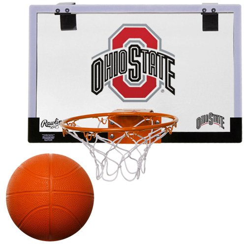 NCAA Ohio State Buckeyes Game On Hoop Set by Rawlings (Basketballs Ohio State)