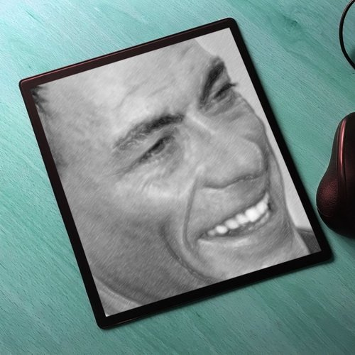 Seasons Jean-Claude Van Damme - Original Art Mouse Mat #js002