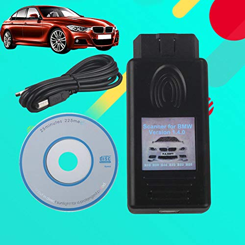 YUSHHO56T Diagnostic Instrument Scanner Diagnostic Never Locking 1.4.0 Version Auto Scanner Tool for BMW E38 E39 E46