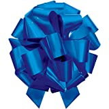 MasterBow IncrediBow Jumbo Flat Pull Bow, 16-Inch, Royal Blue Lacquer