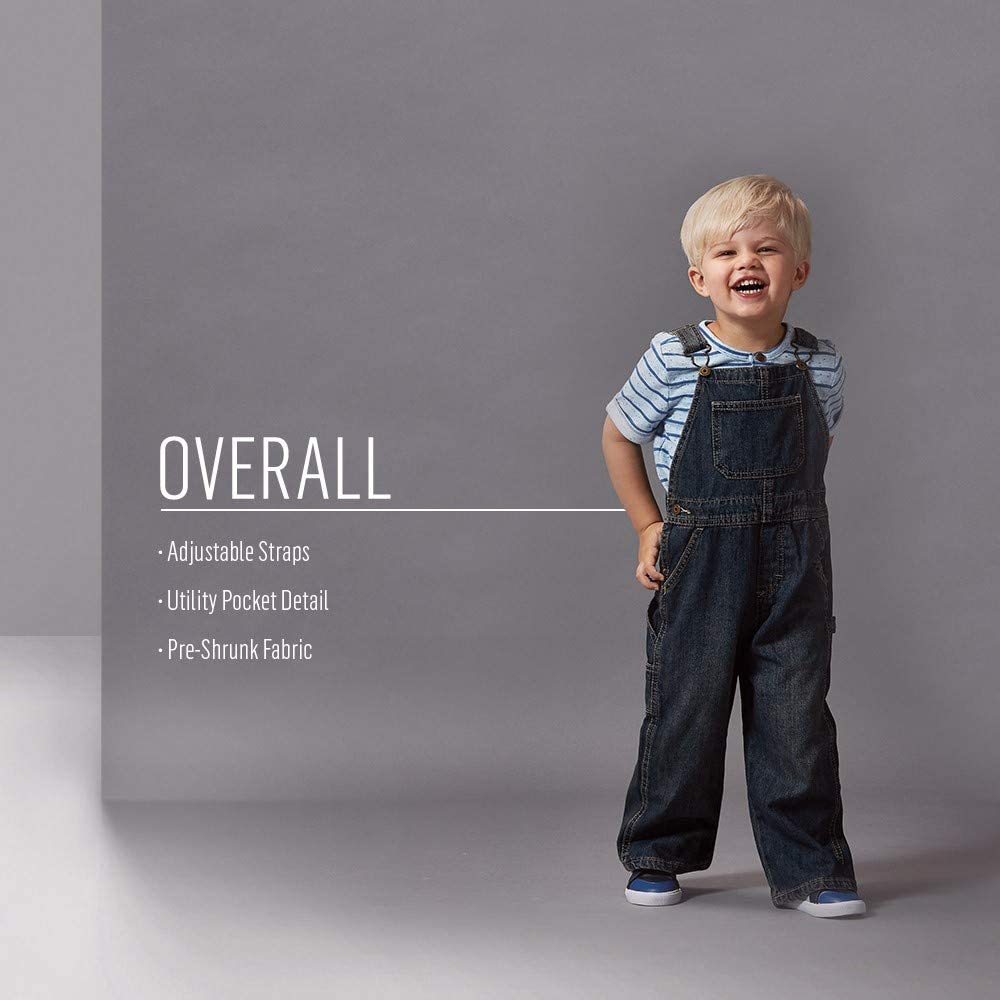 Wrangler Authentics Toddler Boys' Denim Overall: Clothing
