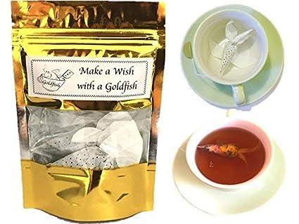 Amazon.com: Tea Gift set 3 Tea Samples Gift Goldfish tea bags CEYLON ...