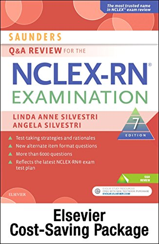 Saunders Q & A Review for the NCLEX-RN® Examination - Elsevier eBook on VitalSource + Evolve Access (Retail Access Cards), 7e