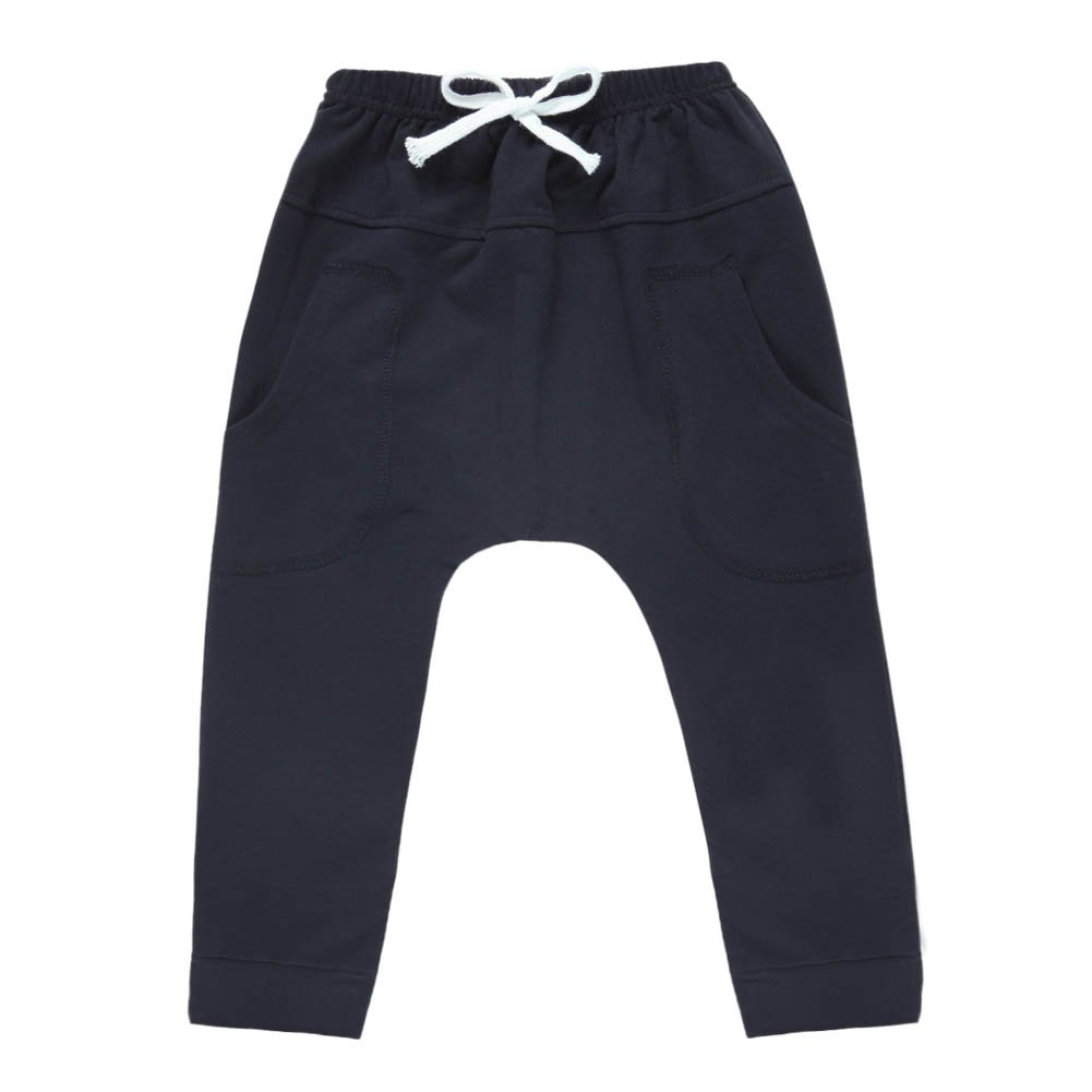 CHIC-CHIC Kids Boys Girls Hiphop Harem Pants Trousers Casual Jogger Bottoms
