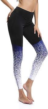 Le World Pantalones de Yoga Pilates para Mujer Cintura Alta ...