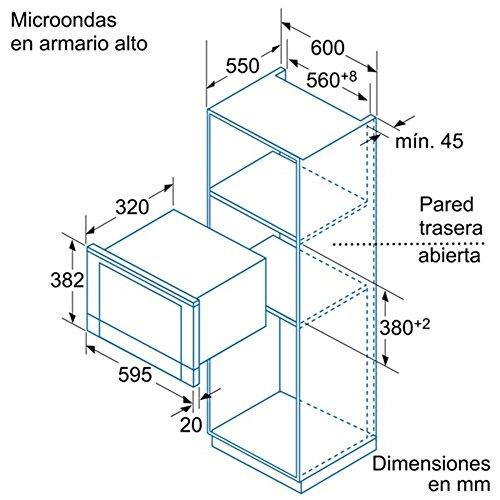 Amazon.com: Balay - Built-in microwave Balay 3WG459XIC 21 L ...