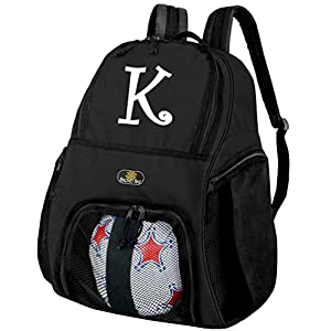 Personalized Soccer Backpack Ball Holding Bag by BROAD BAY