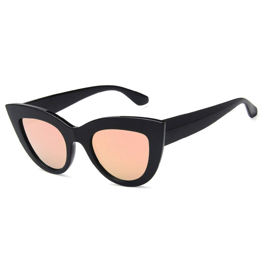 SUN HUIJIE Retro Cat Eye Gafas de Sol polarizadas Mujeres ...