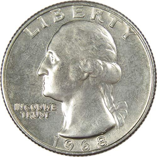 1968 25c Washington Quarter Uncirculated Mint State ()