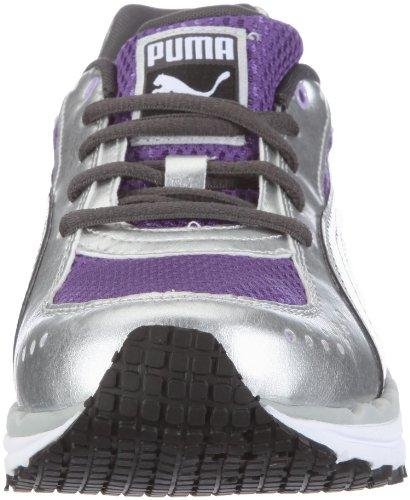 Puma zapatos deportivos cuerpo tren malla de wn 185532 FITNESS para mujer Silber/puma silver-ultra violet