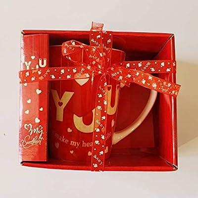 Taza – Taza – San Valentín – Regalo para Enamorados con Caja de ...