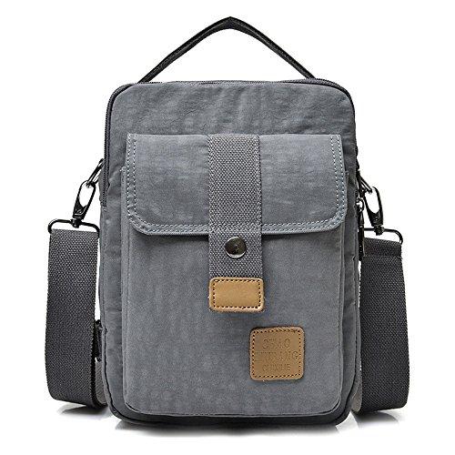 Oxford Oxford Bag For Shoulder Wenl Black Fashion Gray Men Eqt515nwXp