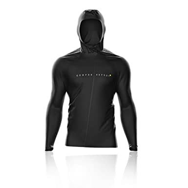 Compressport Thunderstorm 10/10 Chaqueta - Negra Edition ...