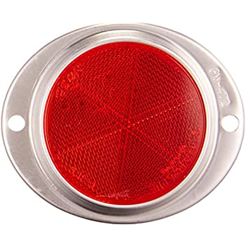 Blazer B888R Oval Aluminum Reflector Red
