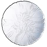 Cheap arc international 17267 Canterbury, 10 -Inch, Embossed Floral Leaf Design, Dinner Plate