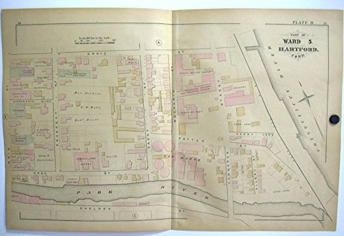 hartford-ct-map-1880-ward-5-beach-boiler-foundry-atheneum-aetna-gas-works-