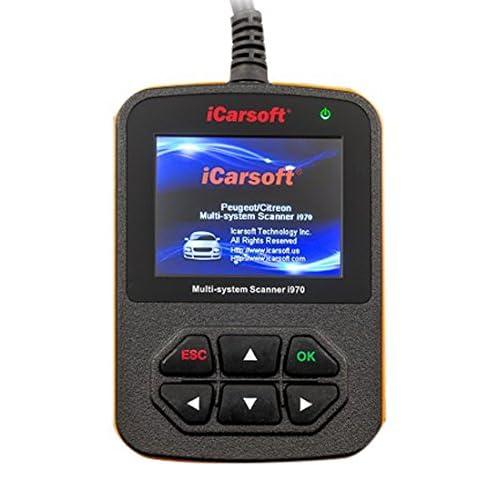 iCarsoft Outil de diagnostic i970 pour voitures