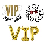 Hollywood VIP Awards Ceremony Party Decorations Supplies - Banners and Balloons