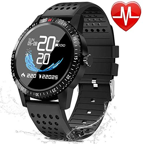 QWMoonRu Fitness Tracker with Heart Rate Blood Pressure Monitor, Activity Tracker Watch with Pedometer, Sleep Monitor…