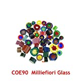 5bags/Lot Milliefiori Glass Microwave Kiln Accessories COE90...