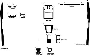 Rvinyl Rdash Dash Kit Decal Trim for Mazda Miata 1990-1993 - Carbon Fiber 3D (Orange)