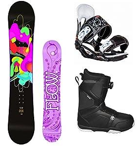 Amazon.com : Flow 2017 Pixi Women's Complete Snowboard