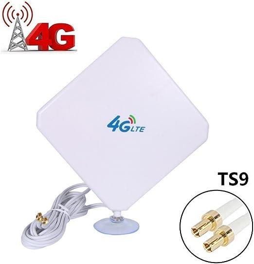 4g Lte Antenne Ts9 Connecteur Amplificateur De Signal Dextérieur Récepteur 35dbi Haut Gain Réseau à Longue Portée Ethernet Pour Wifi Routeur Haut