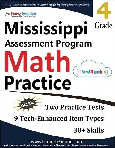 Mississippi Assessment Program Test Prep: 4th Grade Math