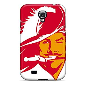 Galaxy S4 Hard Back With Bumper Silicone Gel Tpu Case Cover Tampa Bay Buccaneers