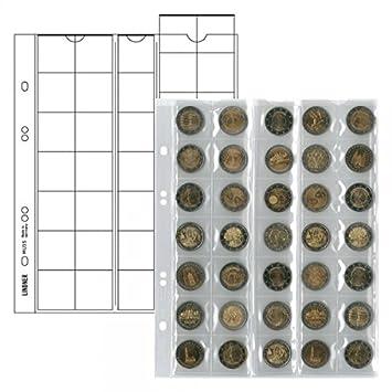 Lindner 2 X Multi Collect Münzhüllen Ergänzungsblätter Nr Mu35