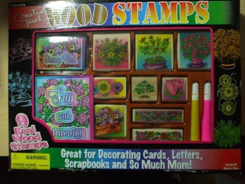 Wood Stamps Craft Kit