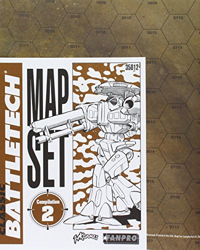 Classic Battletech: Map Set Compilation 2 (2 Map Set)