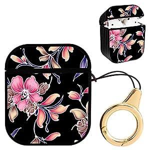 Amazon.com: Wireless Airpod Case Purple Pink Flower