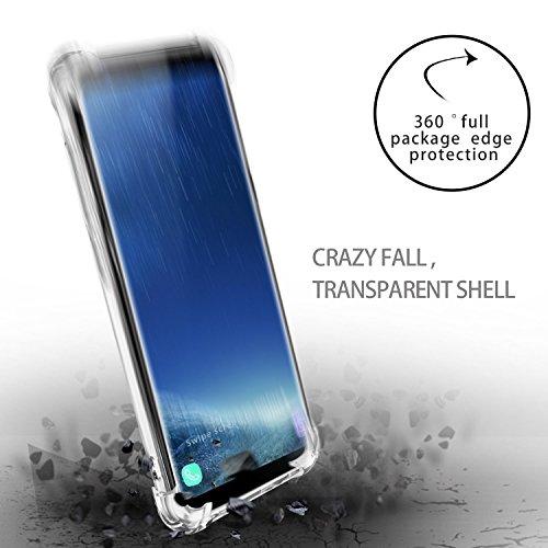 Samsung Galaxy S8/S8 plus Funda Pacyer® TPU Claro Elefante Absorción TPU Parte Dreamcatcher Trasera Dura Anti-Estático Anti-Rasguño Anti-Golpes Refuerzo de Grosor Evitar Caídas Ballon