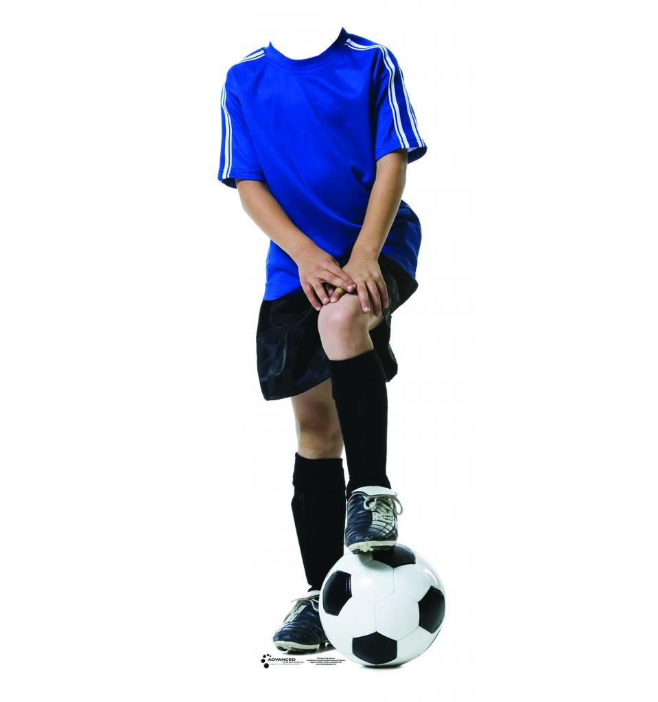 Soccer Boy Stand-In - Advanced Graphics Life Size Cardboard Standup