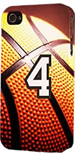 iphone covers Basketball Sports Fan Player Number 4 Plastic Snap On Flexible Decorative Apple Iphone 5c Case