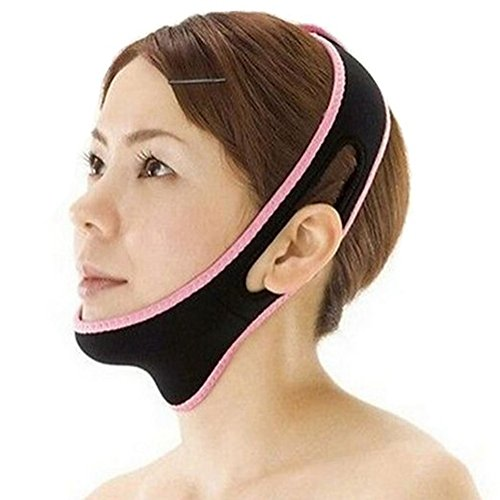 Price comparison product image BUYITNOW Face V Line Mask Women's Lift Up Facial Chin Neck Belt Makeup Tools