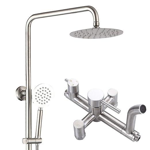 304 Conjunto de cabezal de ducha de acero inoxidable, baño ...