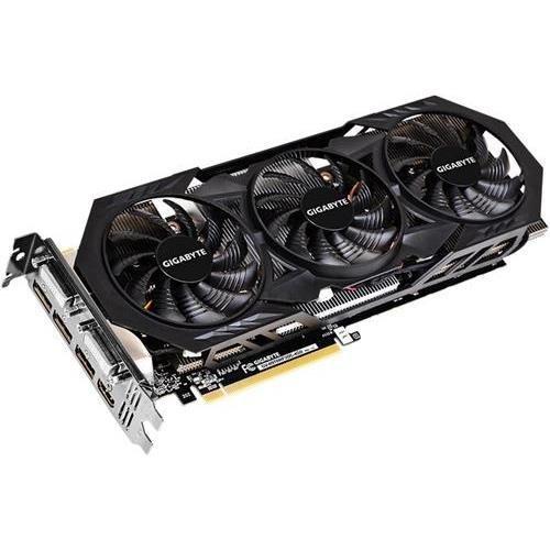 GIGABYTE GV-N970WF3OC-4GD GeForce GTX 970 OC 4GB GDDR5 2DVI/HDMI/3DisplayPort PCI-Express Video Card