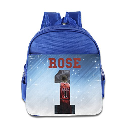 Price comparison product image Custom Basketball Superstar NO.1 Superb Boys And Girls School Bagpack Bag For 1-6 Years Old RoyalBlue