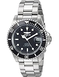 Invicta Men's Connection Automatic 200m Stainless Steel Black Dial Watch 24760