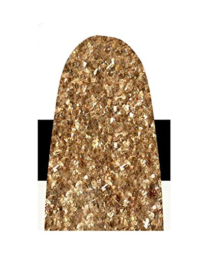 (Golden Artist Colors 4 Oz Heavy Body Interference Color Acrylic Paint Color  Gold Mica Flake(Large), Yellow )