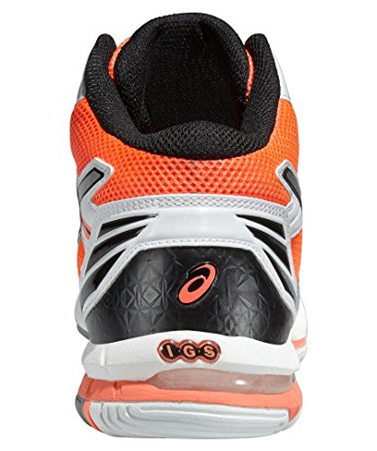 WHITE Shoes 16 3 Hot Coral CORAL Silver VOLLEY White SILVER GEL Asics MT ELITE HOT 15 XxwrwHv