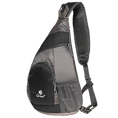 Coreal Sling Shoulder Bag Hiking Crossbody Backpack Lightweight Chest Daypack