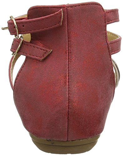 Joe Browns Women's Arabian Sunset Gladiator Sandals Red (Red/Gold) KAElTOiul